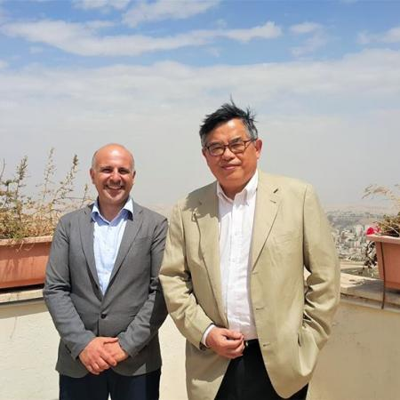 Taiwanese Ambassador Paul Chang visited The Truman Institute